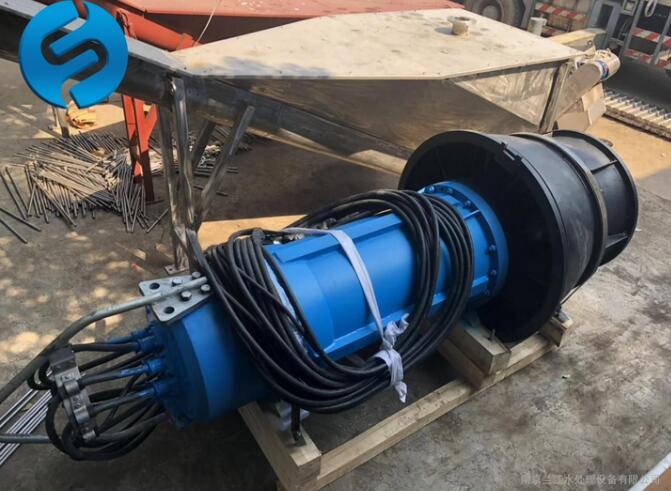 高扬程潜水轴流泵